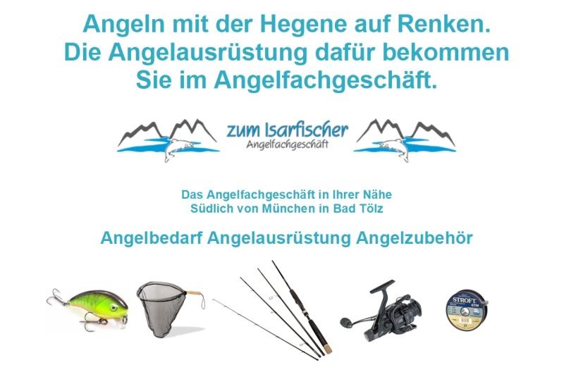 """Mit der Hegene auf Renken Angeln / Fischen, die passende Angelausrüstung und das Angelzubehör gibt es im Angelgeschäft """"Zum Isarfischer"""" in Bad Tölz, südlich von München.  Hegene kaufen im Angelgeschäft. Hegeneangeln Hegenefischen Renkenfischen Renkenangeln Felchenangeln Felchenfischen in Bayern Oberbayern am Tegernsee Walchensee Kochelsee Starnbergersee."""